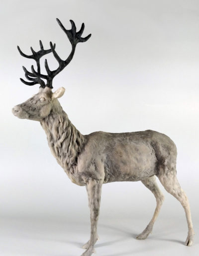 Stag - Resin, Frances Clark, 2018 (Limited Edition 7/10)